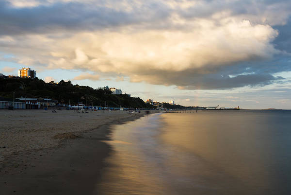 Wall Art - Photograph - Bournemouth Pier At Sunset by Ian Middleton