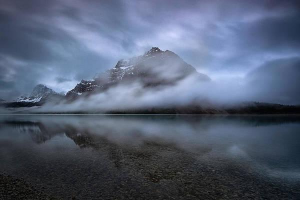 Banff National Park Wall Art - Photograph - Bow Lake by Robert Fawcett