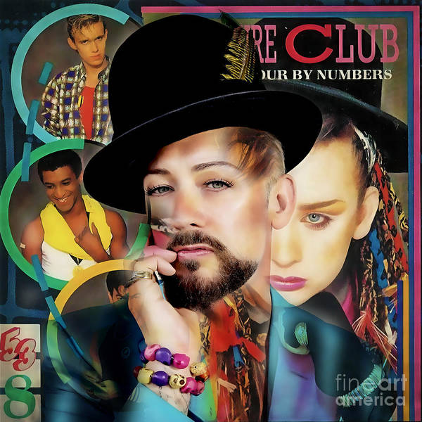 Wall Art - Mixed Media - Boy George Collection by Marvin Blaine