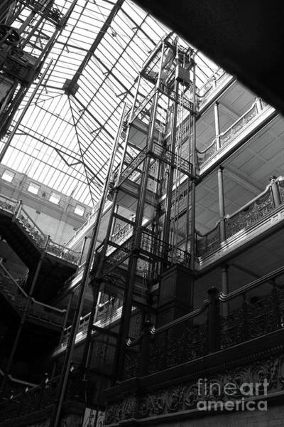 Photograph - Bradbury Building by Gregory Dyer