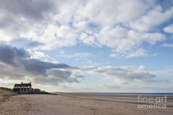 Childhood Digital Art - Brancaster Beach by John Edwards