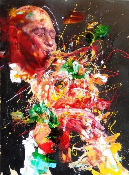 Wall Art - Painting - Brandford Marsalis by Massimo Chioccia