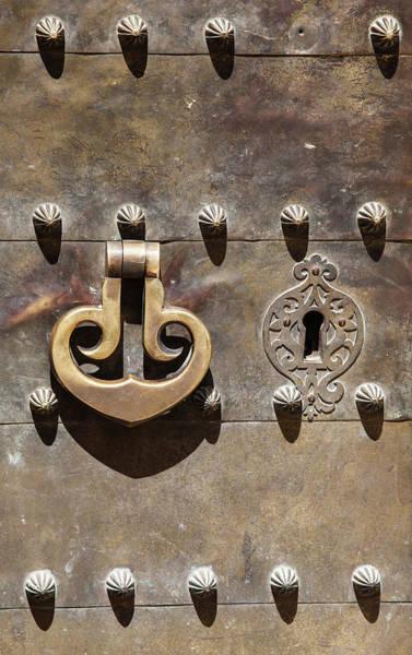 Photograph - Brass Door Knocker by David Letts