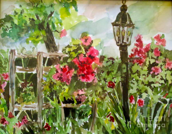 Painting - Brazos Gardens by Patsy Walton