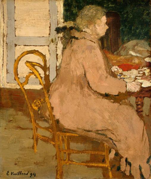 Painting - Breakfast by Edouard Vuillard