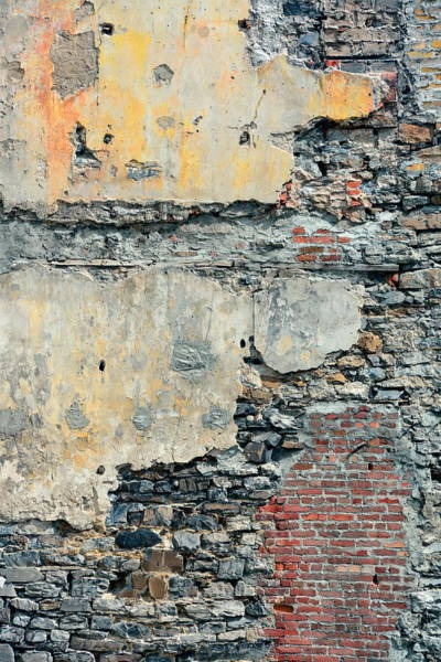 Photograph - Brick Wall Background  by Songquan Deng