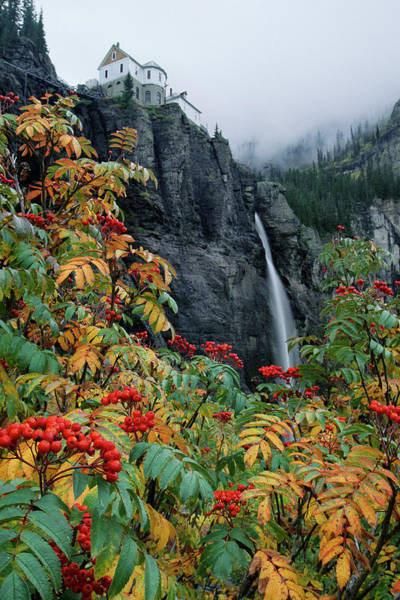 Photograph - Bridal Veil Falls by Whit Richardson