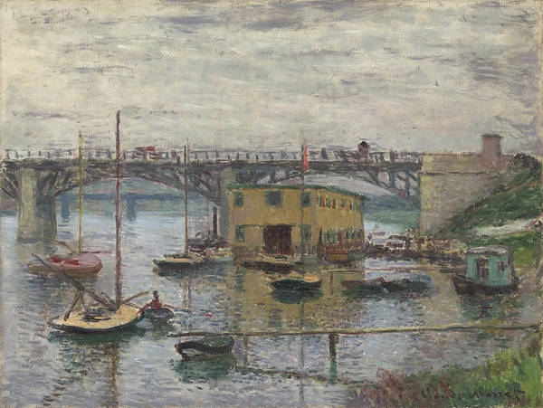 Painting - Bridge At Argenteuil by Claude Monet