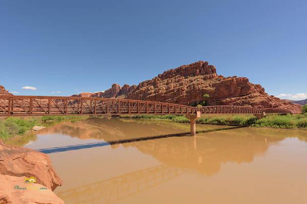 Photograph - Bridge Over The Colorado River by Jim Thompson