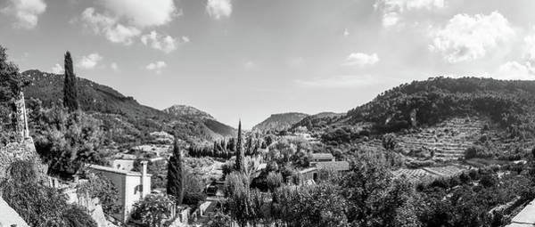 Aurore Photograph - Panoramic View From The Monastery At Valldemossa  by Naylors Photography