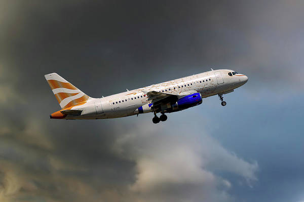 Airbus A319 Wall Art - Photograph - British Airways Airbus A319-131 by Smart Aviation