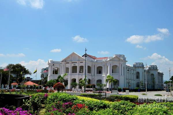 Photograph - British Colonial Architecture Town Hall And General Post Office Building Ipoh Malaysia by Imran Ahmed