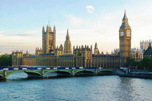 Photograph - British Parliament by Artistic Panda