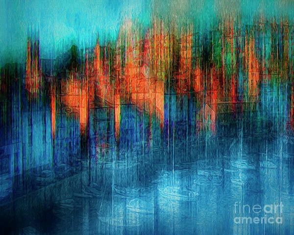 Digital Art - Brixham by Edmund Nagele