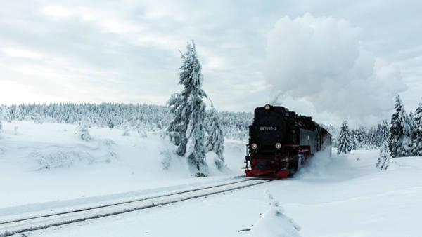 Photograph - Brockenbahn, Harz by Andreas Levi
