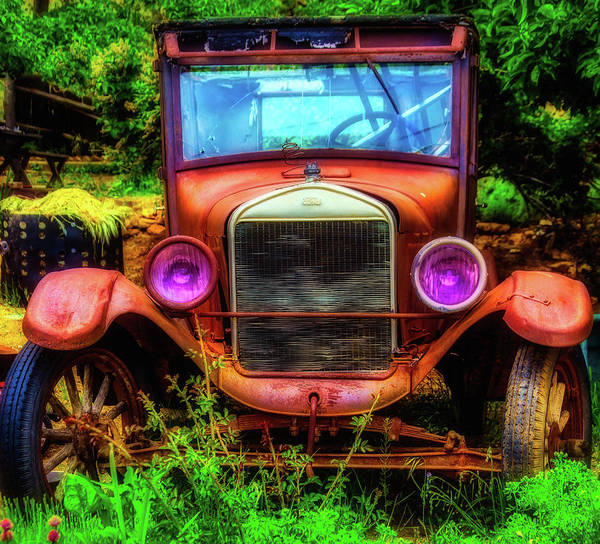 Wall Art - Photograph - Broken Down Ford by Garry Gay