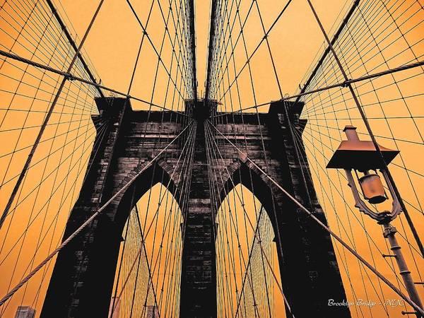Photograph - Brooklyn Bridge - Nyc by Juergen Weiss