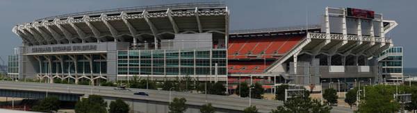Photograph - Browns Stadium by Stewart Helberg