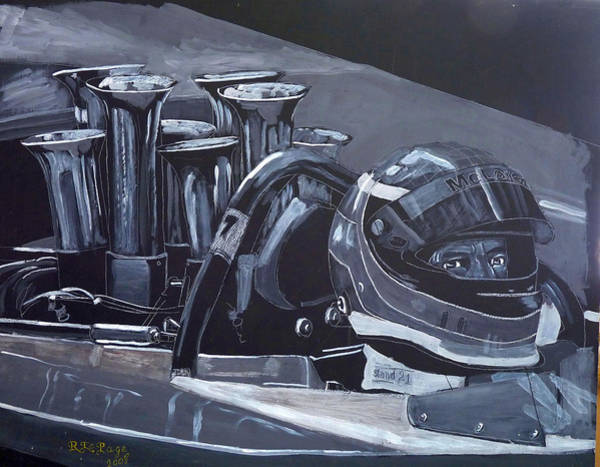 Painting - Bruce Mclaren Canam by Richard Le Page