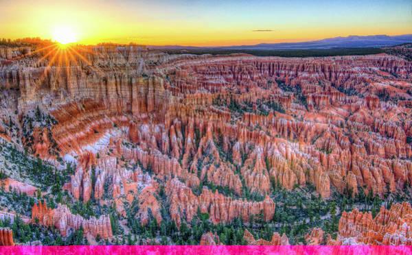 Bryce Canyon Sunset Art Print