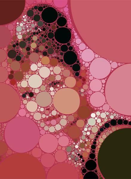 Bubble Art Audrey Hepburn Art Print