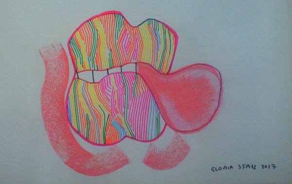 Painting - Bubblegum by Gloria Ssali