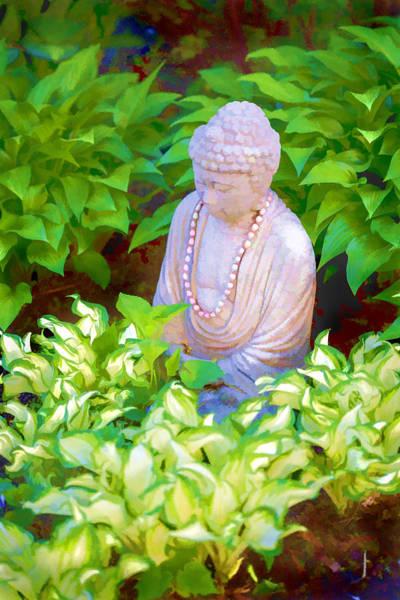 Photograph - Buddha In The Garden by Tom Singleton