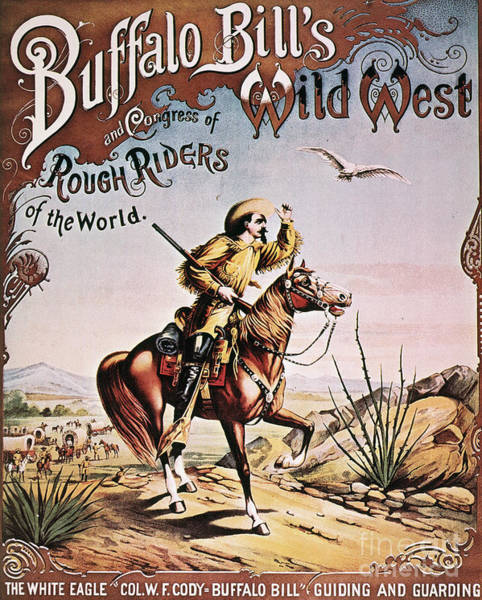 Photograph - Buffalo Bill: Poster, 1893 by Granger