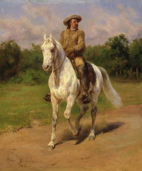Territory Painting - Buffalo Bill by Rosa Bonheur
