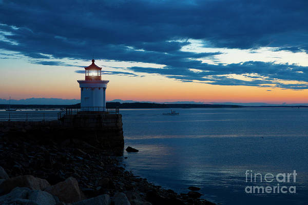 Wall Art - Photograph - Bug Light, Portland Maine by Diane Diederich