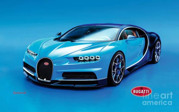 Carbon Fiber Photograph - Bugatti Chiron 30 by Garland Johnson