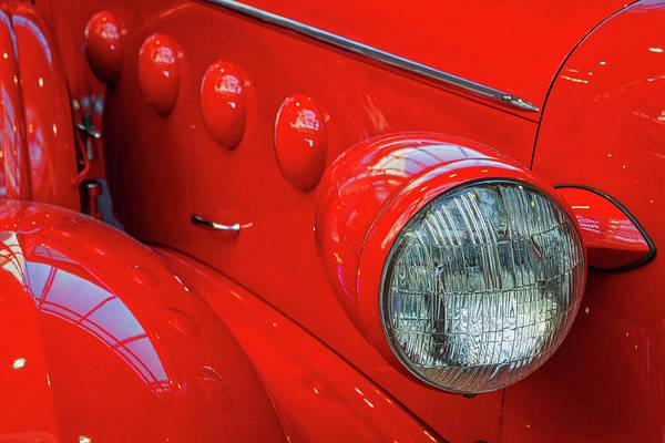 Photograph - Buick Lasalle Headlight by Stuart Litoff