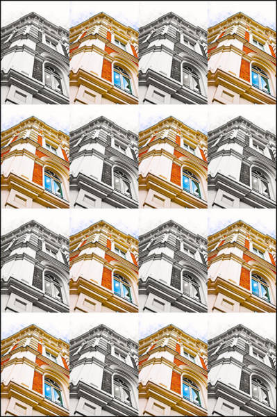 Baroque Photograph - Buildimng Collage by Tom Gowanlock