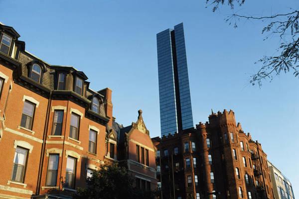 Buildings In A City, Boston, Suffolk Art Print