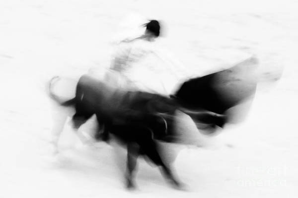 Toreador Photograph - Bullfighting by Matej Kastelic