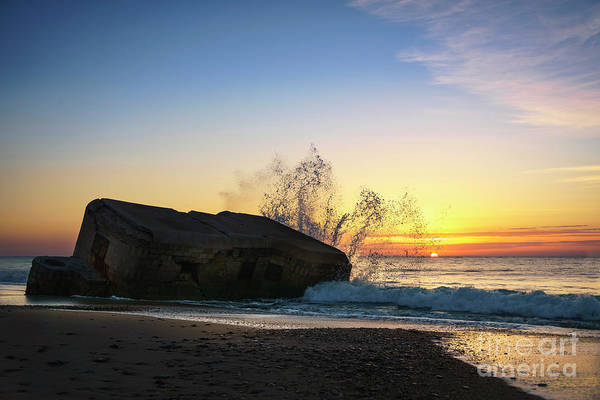 Photograph - Bunker At Camposoto Beach San Fernando Cadiz Spain by Pablo Avanzini