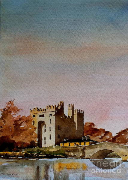 Painting - Bunratty Castle, Clare by Val Byrne