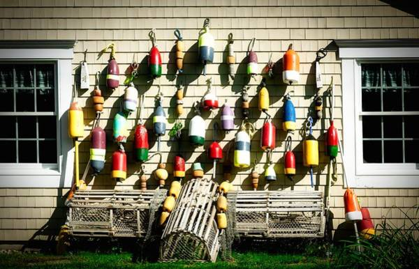 Wall Art - Photograph - Buoys And Lobster Traps by Library Of Congress