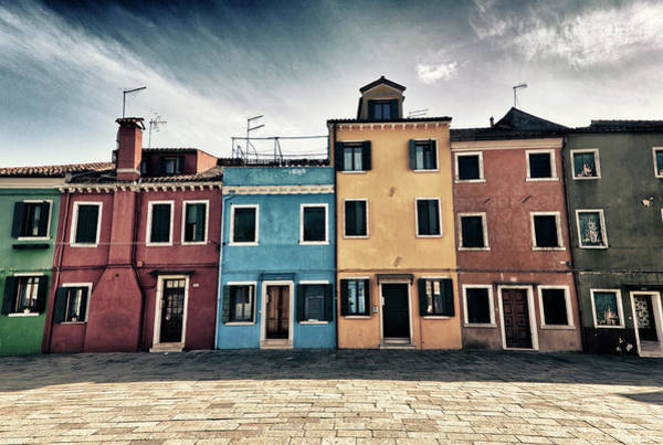 Photograph - Burano Houses by Stefan Nielsen