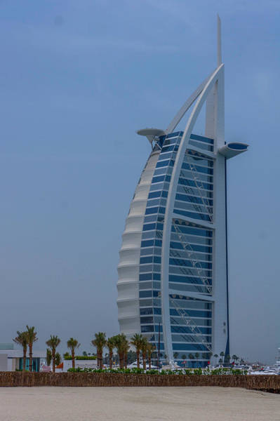 Wall Art - Photograph - Burj Al Arab Hotel In Dubai, Uae by Art Spectrum