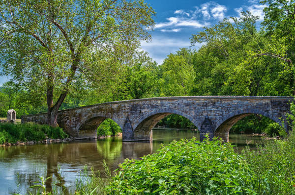 Photograph - Burnside Bridge, Antietam by Lori Coleman
