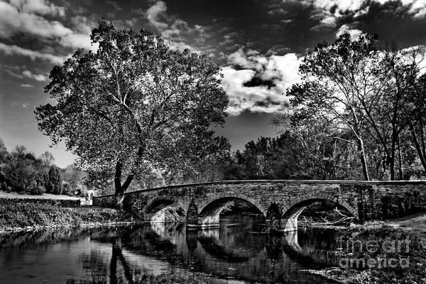 Burnside Bridge Photograph - Burnside Bridge At Antietam by Paul W Faust - Impressions of Light
