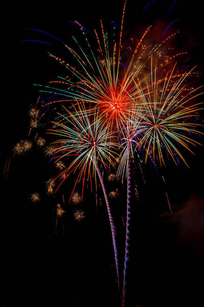 Dazzle Wall Art - Photograph - Bursting In Air by Garry Gay