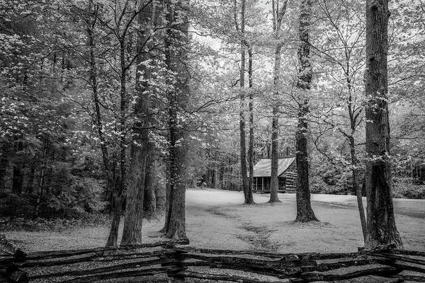 Wall Art - Photograph - Cabin In Cades Cove by Jon Glaser