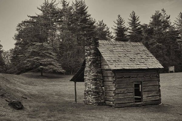Photograph - Cabin On The Blue Ridge Parkway - 15 by Joye Ardyn Durham