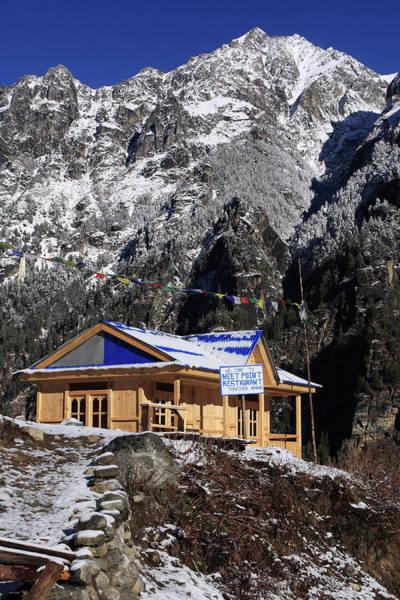 Photograph - Meeting Point Mountain Restaurant by Aidan Moran