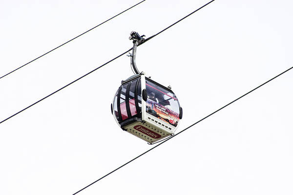 Aerial Tramway Wall Art - Photograph - Cable Car by Martin Newman