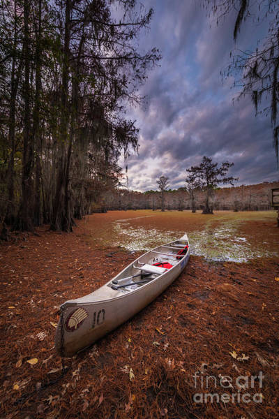 Photograph - Caddo Canoe by Inge Johnsson