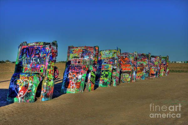 Photograph - Cadillac Ranch #2 by Tony Baca