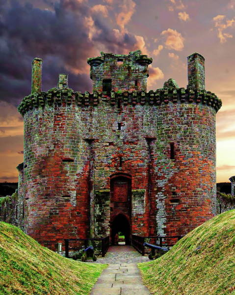 Photograph - Caerlaverock Castle by Anthony Dezenzio
